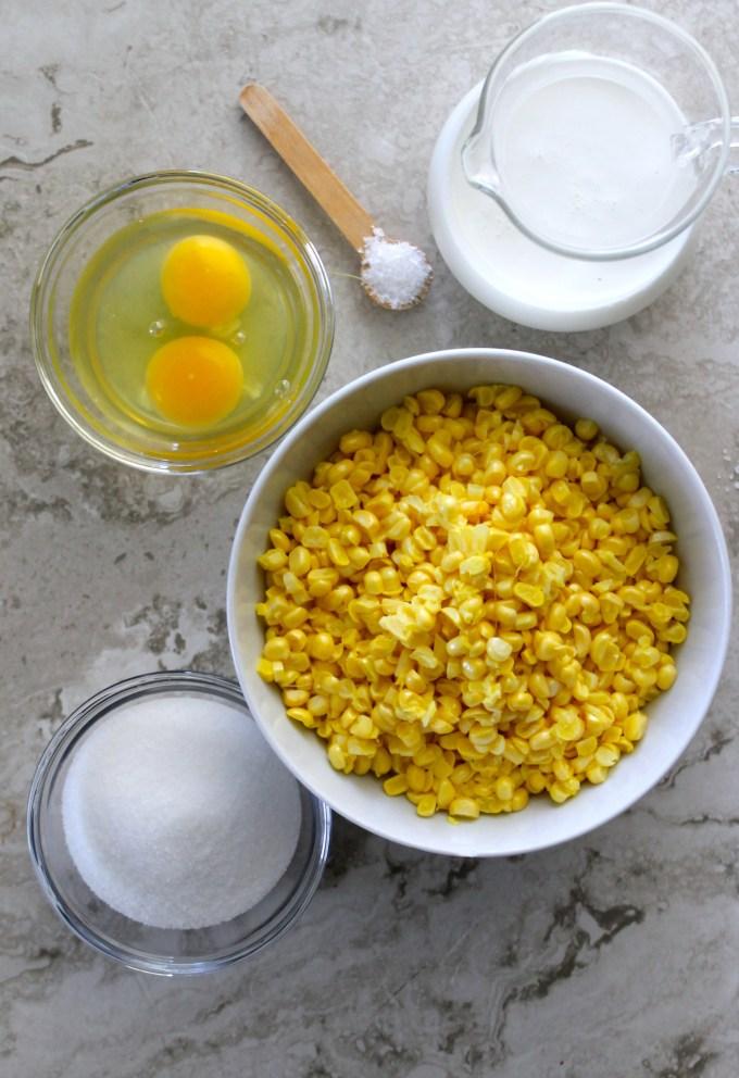 Ingredientes para torta de jojoto by enrilemoine