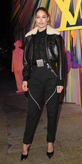 Model Doutzen Kroes at LouisVuitton Maison event in London23/10/2019