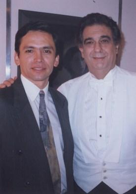 Enrique Osorio, Plácido Domingo. Bogotá - Colombia 1997