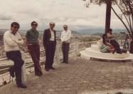 Junta Directiva Sociedad Colombiana de Historia de la Medicina. Humbert Roselli - Presidente, Ernesto Andrade V. - Vice-presiente, Enrique Osorio - Secretario, Ricardo Salazar - Tesorero. 1985