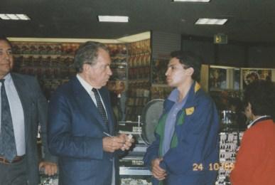 Richard Nixon, Enrique Osorio, Los Angeles - USA 1989