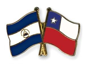 Banderas Nicaragua y Chile