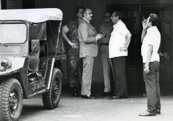 Anastasio Somoza Debayle y Francisco Urcuyo Maliaños, el presidente de las 24 horas