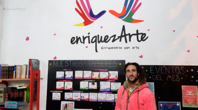 Enriquezarte Centro Cultural Barcelona Voluntariado
