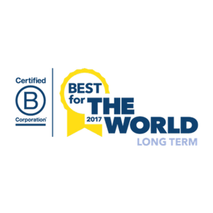 Enrollment Resources received the 2017 B Corp Best For The World Award: Best For The Long Term