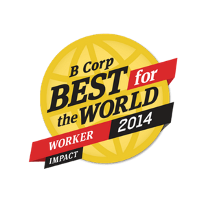 Enrollment Resources received the 2014 B Corp Best For The World Award: Best For Workers