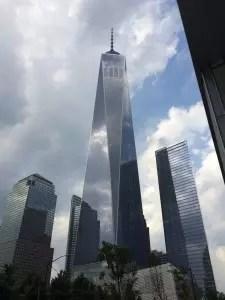 Nouvelle tour construire sur l'emplacement du World Trade Center