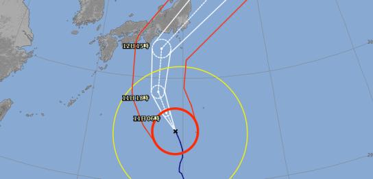 台風情報画像