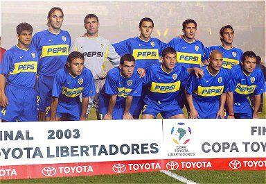 Finales Copa Libertadores Final 2003 - Campeón: Boca Juniors (Argentina
