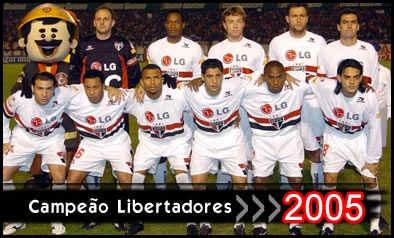 Finales Copa Libertadores Final 2005 - Campeón: San Pablo (Brasil)