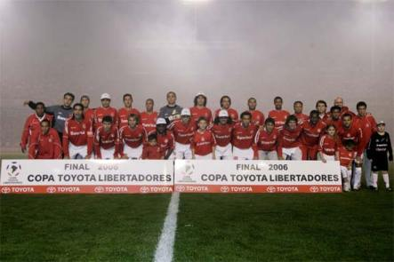 Finales Copa Libertadores Final 2006 - Campeón: Internacional (Brasil)