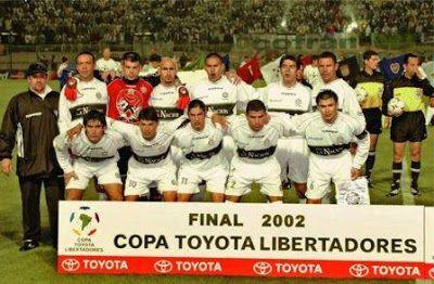 Finales Copa Libertadores Final 2002 - Campeón: Olimpia (Paraguay)