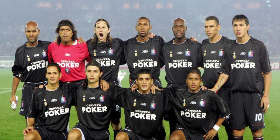 Finales Copa Libertadores Final 2004 - Campeón: Once Caldas (Colombia)