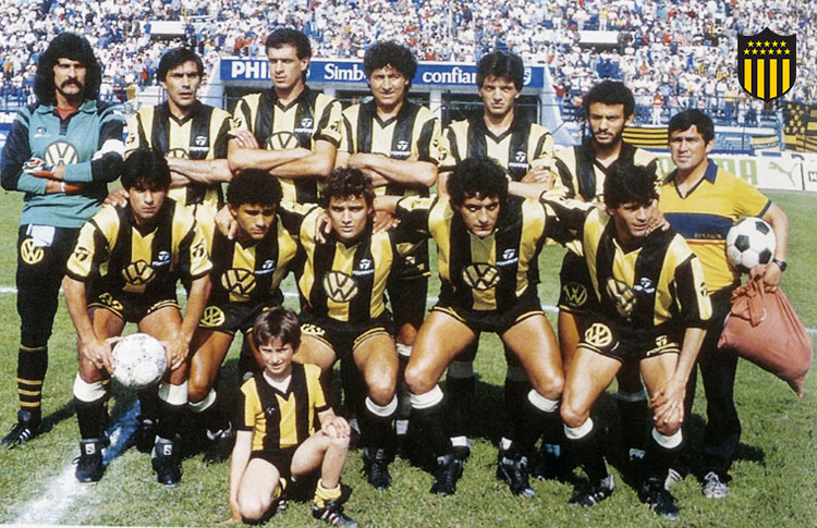 Finales Copa Libertadores Final 1987 - Campeón: Peñarol (Uruguay)