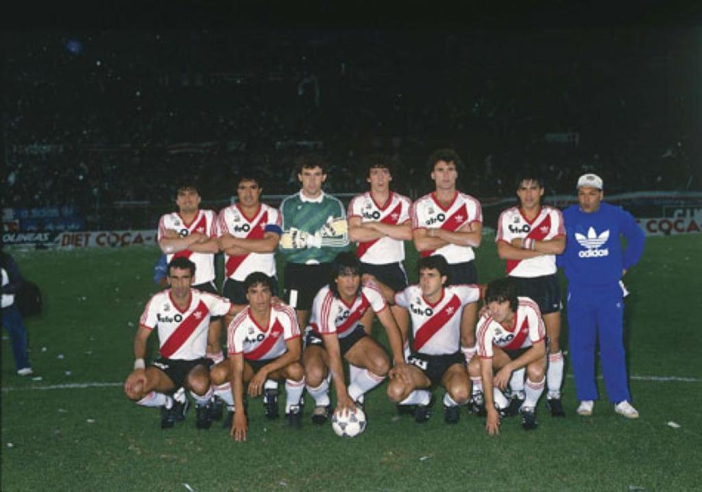 Finales Copa Libertadores Final 1986 - Campeón: River Plate (Argentina)