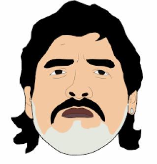 La trayectoria de Maradona