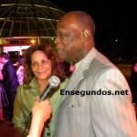 """Jhonny Ventura y su esposa """"Fifa"""""""