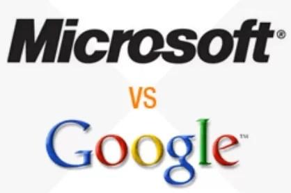Google acusa a Microsoft de tramposo