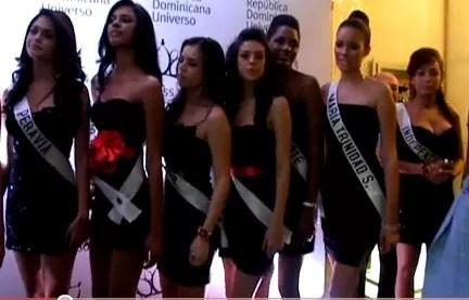 Una mirada de cerca a las chicas que concursan en Miss RD Universo 2011