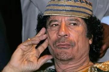 Presidente libio, Muamar el Gadafi, asegura está en Trípoli y no en Venezuela