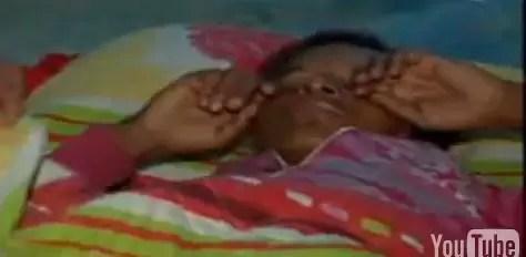 """Miren el video del momento en que la joven de Barahona predice  """"Gran terremoto"""""""