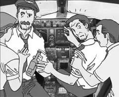 Dos pilotos ebrios iban a despegar un avión con 101 pasajeros