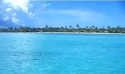 Yo amo mi país: Salida en lancha rápida de la isla Saona (video)