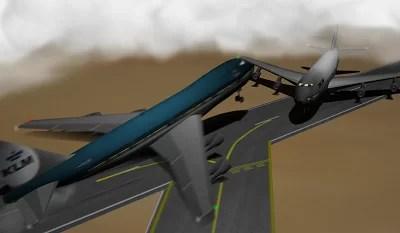 Vea el choque de dos aviones en el aeropuerto JFK de Nueva York [Video]