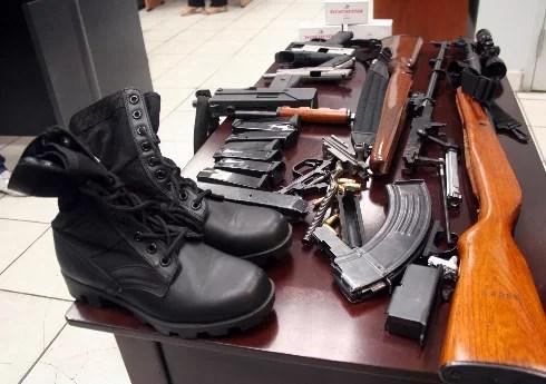 La cifra del día: Se expiden permisos para 181,381 armas en 8 meses