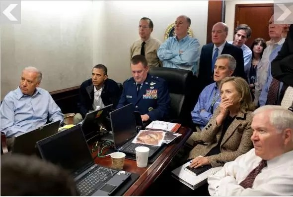 Así se vio la muerte de Bin Laden en la Casa Blanca
