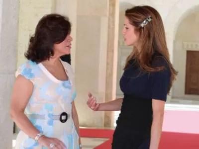 Primera Dama se reúne con la Reina de Jordania para conversar sobre el uso de las redes sociales