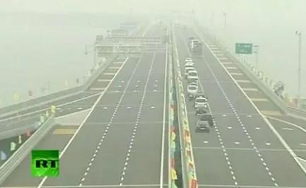 Este es el puente  más largo del mundo (video)