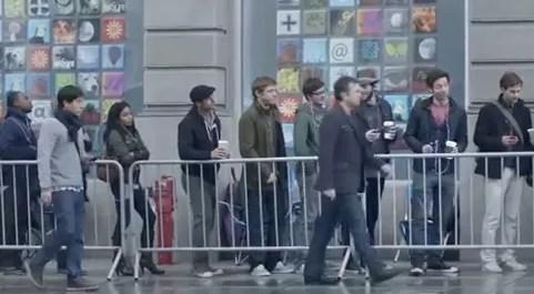 Samsung se burla de los usuarios de Apple, miren este video