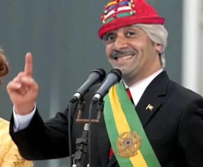Diputado payaso más votado de Brasil critica al sistema político de su país