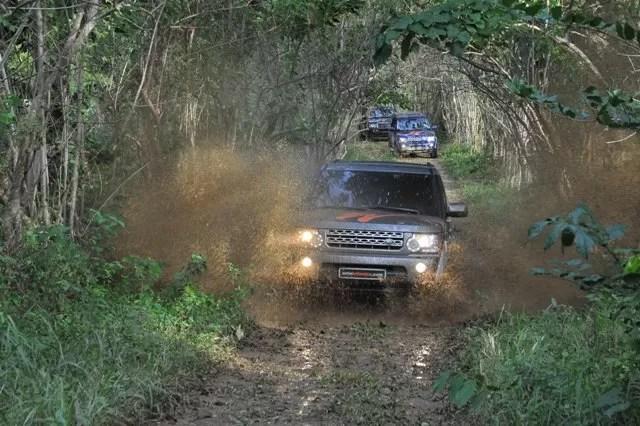 Autobritanica realiza ruta Off Road con su Club Land Rover Wild Team