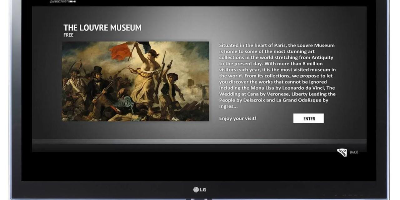 Museum aplicación gratis para   LG Smart TV