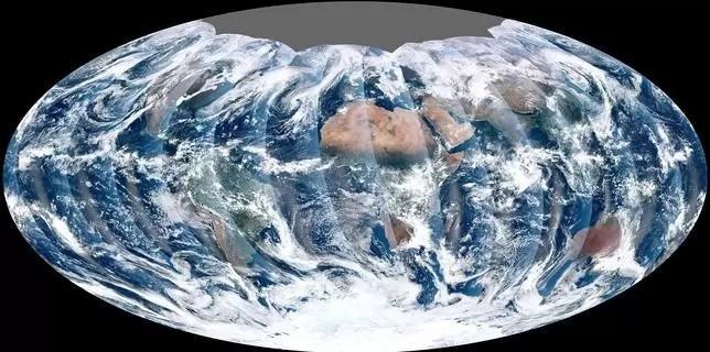 El nuevo satélite de la NASA VIIRS fotografía nuestro planeta en rodajas