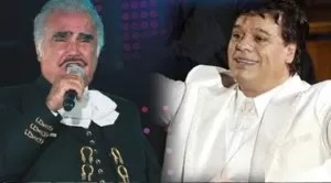 Vicente Fernández y Juan Gabriel grabarán tema juntos tras años de disputa