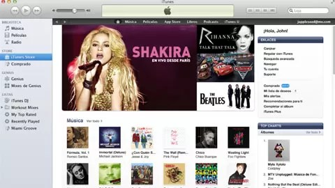 iTunes de Apple llega a Latinoamerica