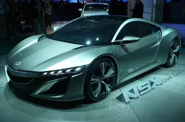 Conozcan el nuevo Acura NSX Concept