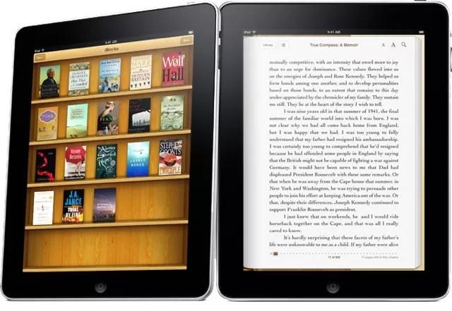 Aplicación iBooks 2 de Apple alcanzó las 350 mil descargas