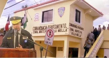 Remodelan y construyen nuevos destacamentos en República Dominicana