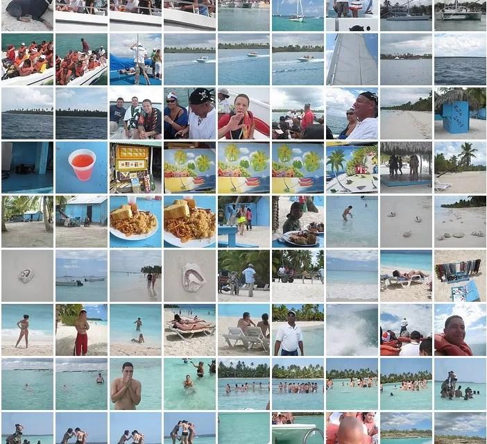 Recordando un viaje a la Isla Saona