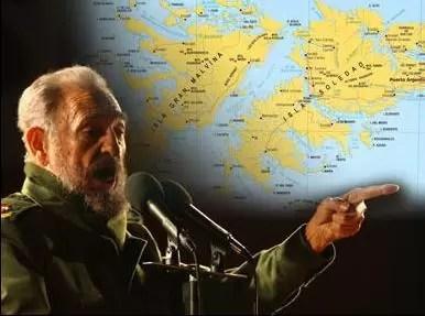 Fidel Castro: Reino Unido debe irse de Las Malvinas