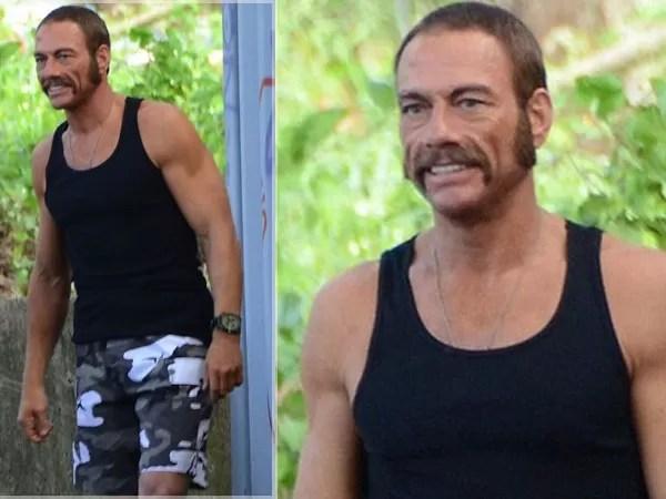 ¿Se acuerdan de Van Damme? Miren como luce