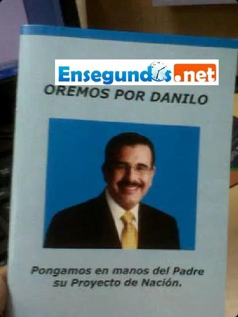 Cadena de oración por la candidatura de Danilo Medina