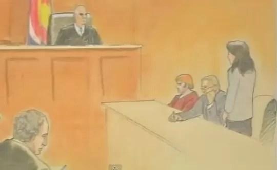 Más de 140 cargos contra James Holmes (video)