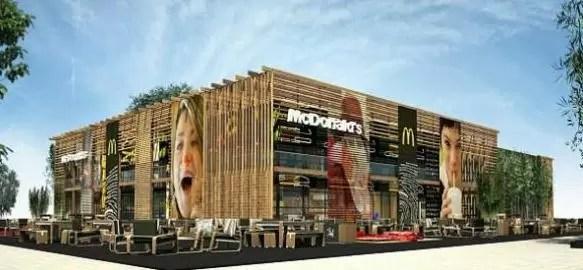 Así es el McDonald's más grande del mundo (video)