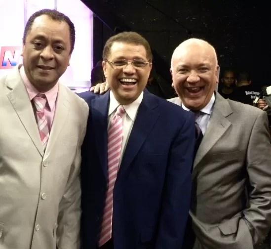 Michael, Domingo y Jochy Santos
