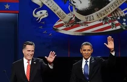 Vivas acusaciones mutuas marcan debate entre Obama y Romney